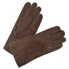 Gant Mouton Retourné Brun Homme Glove Story