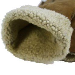 Vue Intérieure Gant Mouton Retourné