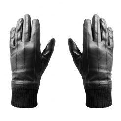 Gants Cuir Tactiles Homme