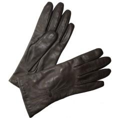 Gant Cuir Femme Gris Glove Story