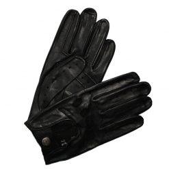 Gant de Conduite Homme en Cuir Noir