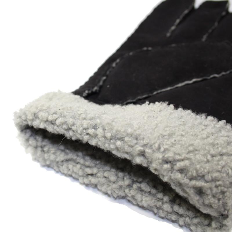 Finition int rieur mouton retourn noir tous les gants for Finition interieur