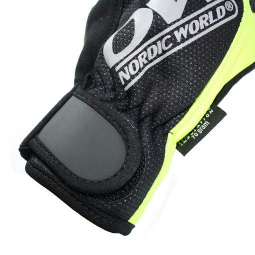 Gant One Way Tobuk 7 Black Yellow Ski Nordique Homme Velcro