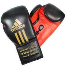 Gants de Boxe Signés Myriam Chomaz Limited Edition 2006 Paris