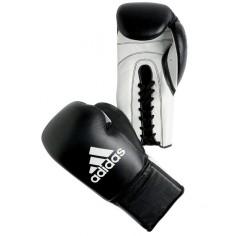 Gants Adidas Multi Boxes Professionnels en Cuir avec Lacets