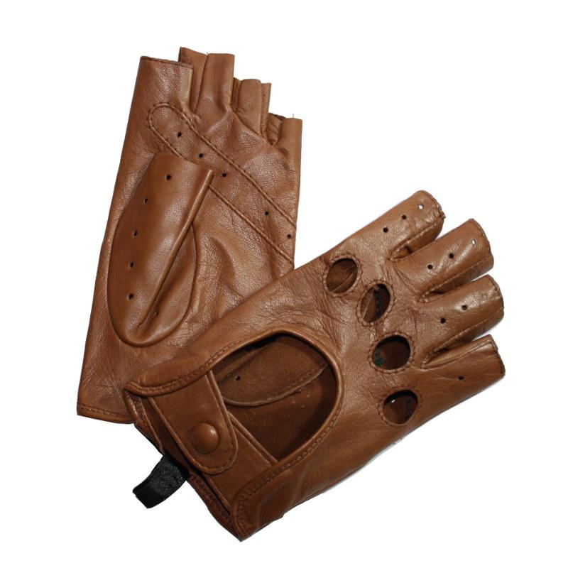 mitaines de conduite femme cuir marron glove story tous les gants. Black Bedroom Furniture Sets. Home Design Ideas