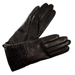 Gants Cuir Brun Femme Glove Story