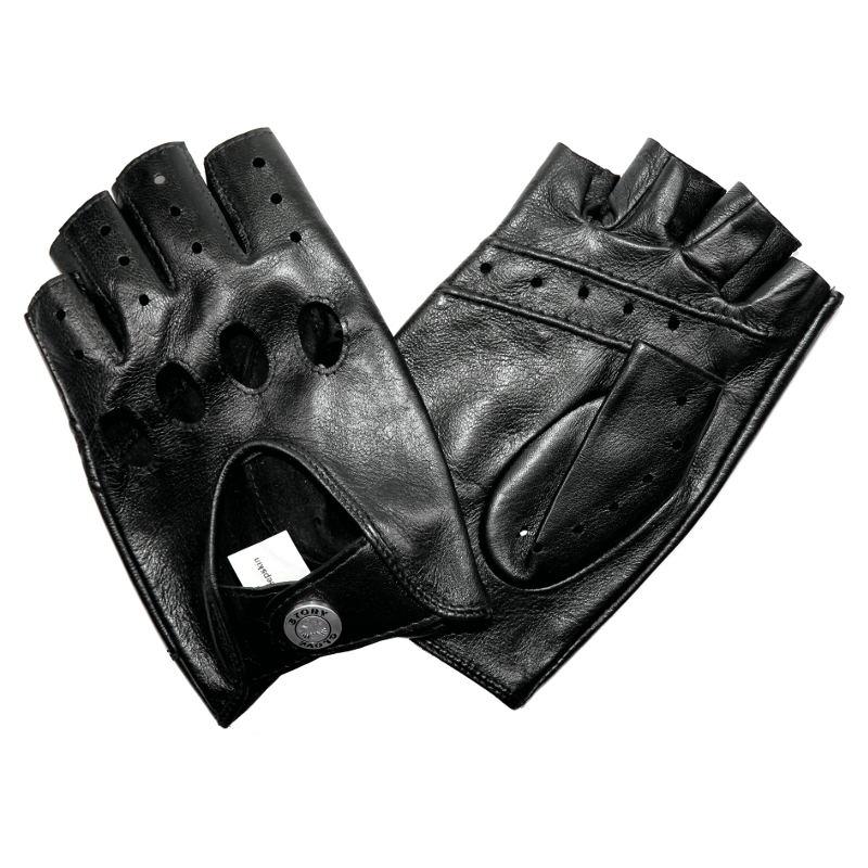 mitaines de conduite homme cuir noir glove story tous les gants. Black Bedroom Furniture Sets. Home Design Ideas