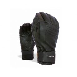 Gants En Cuir de Ski et Snow Rexford Black Level
