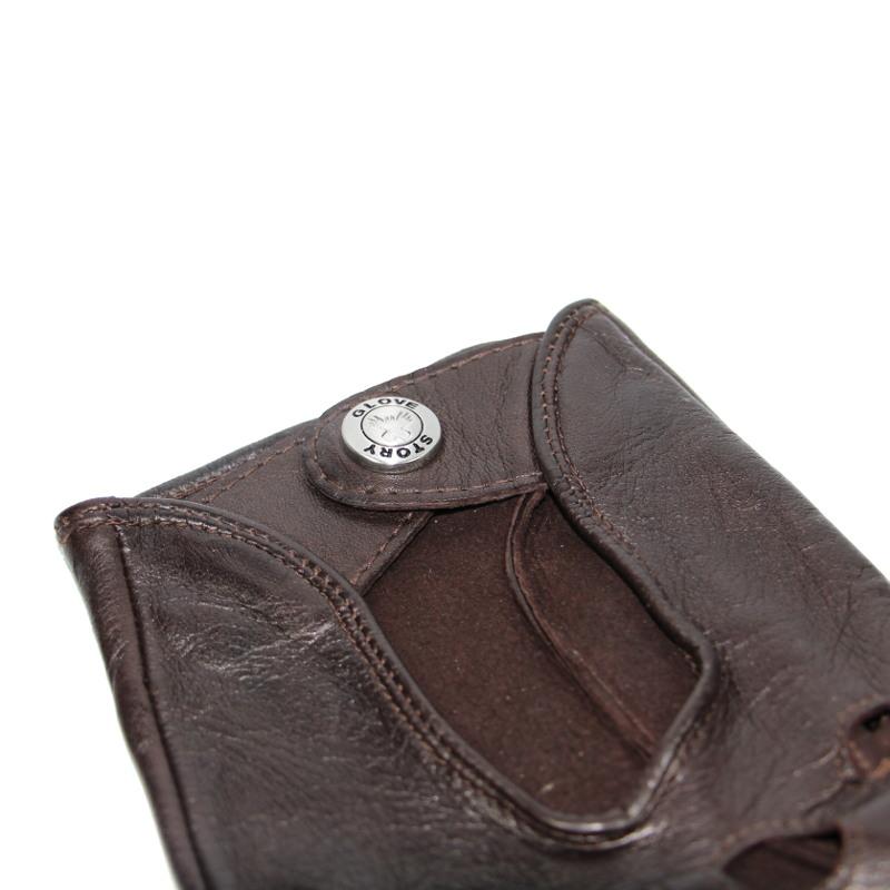 gants de conduite homme cuir brun glove story tous les gants. Black Bedroom Furniture Sets. Home Design Ideas