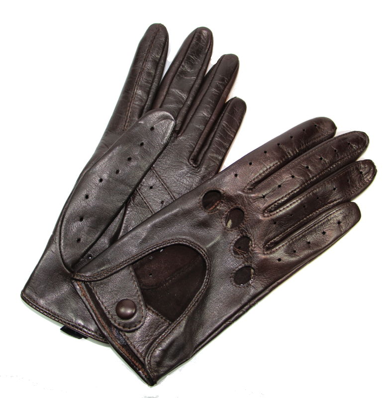 gants de conduite femme cuir brun choco glove story tous les gants. Black Bedroom Furniture Sets. Home Design Ideas