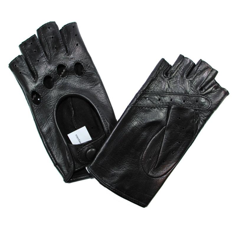mitaines de conduite femme cuir noir glove story tous les gants. Black Bedroom Furniture Sets. Home Design Ideas