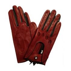 Gants de Conduite femme Cuir Rouge Bordeaux Glove Story