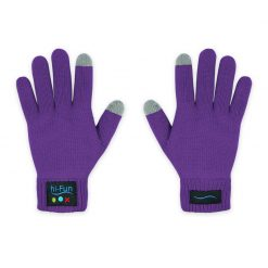Gants Bluetooth Violet